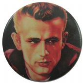 James Dean - 'James Black' Button Badge